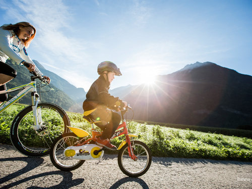 Cycle rides and mountain biking
