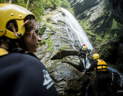 Canyoning in the Mühlwalder Valley